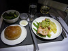 20100519 LAX-SYD A380 dinner salmon