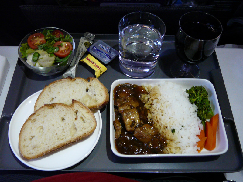 20100521C A330 SYD-PER lunch 10am departure