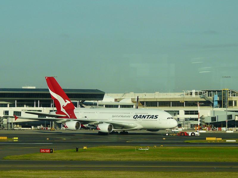20100521B A380 on ground in Sydney