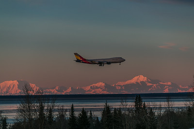 Asiana on Final