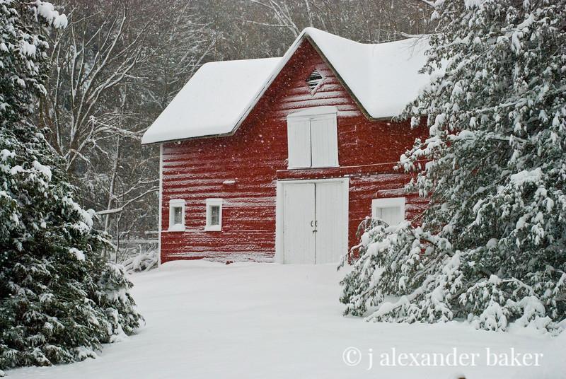Barn in Blizzard of 2010.jpg