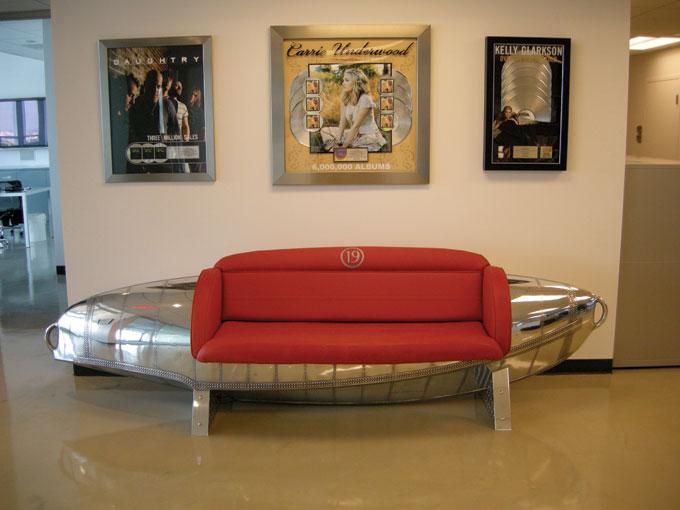 Albatross Float Tank Couch