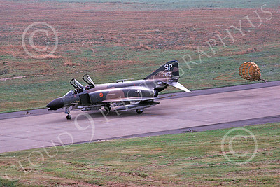 F-4USAF 00359 A taxing McDonnell Douglas F-4D Phantom II USAF 66765 52nd TFW SP code 8-1982 military airplane picture by Wilfried Zetsche