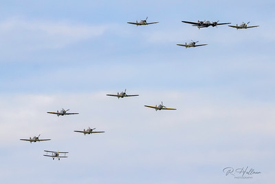 Spitfire, Hurricane, Blenheim