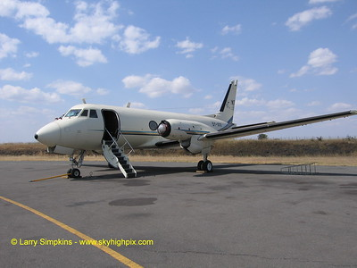 Gulfstream G1 Serial # 001, the worlds first GI being renovated at Nairobi in Africa.