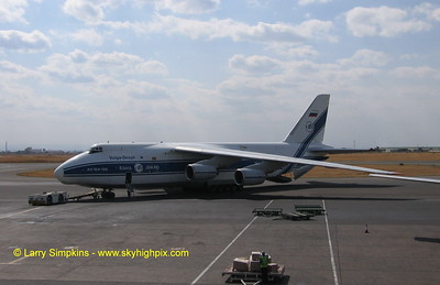 Antonov AN124, at Nairobi, Kenya. August 2008. Image# 017