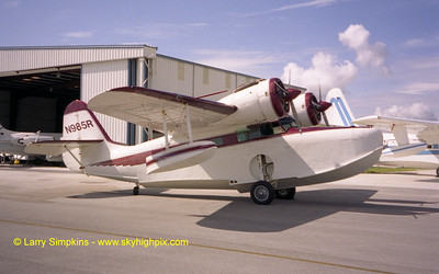 Grumman Goose N985R at Fort Pierce, Florida. August 2003