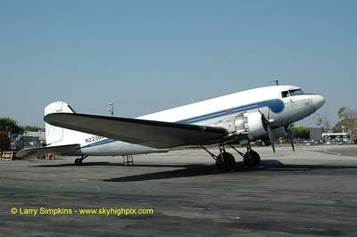 Catalina Airways Douglas C47 freighter at Long Beach, CA