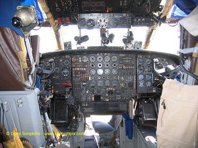 Antonov An-12 Freighter,At Nairobi, Kenya, August 2006, Cockpit. Image# 009