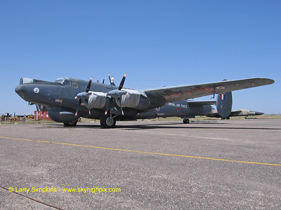 Ex RAF Avro Shackleton at CAF Muesum in Midland, TX
