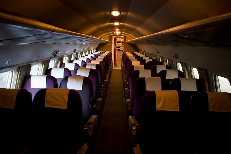 Convair frá Finnair. Flaug í 27 ár áður en henni var lagt.