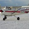 TF-FTR fórst í við Miðfell í Hvalfirði 28. mars 2003.