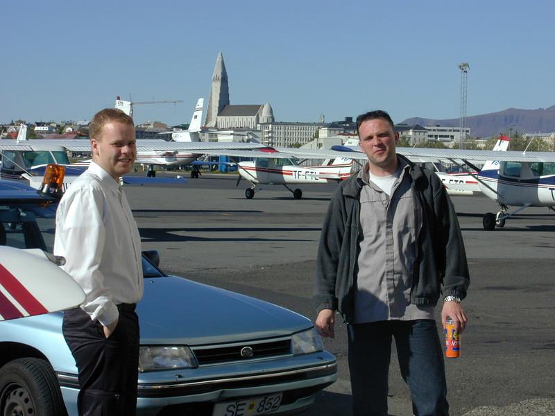 Heimir og Kjartan Nordahl jr.