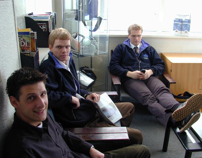 Tommi, Rabbi og Ásgeir.