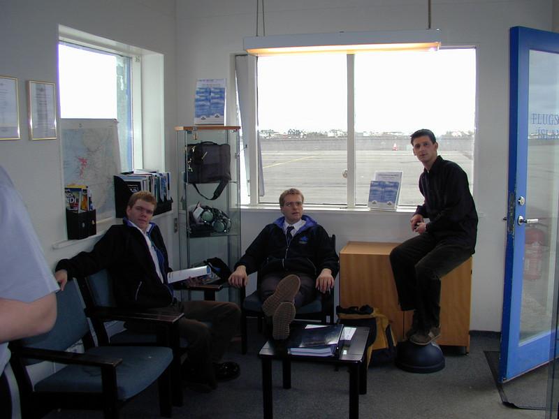 Rabbi, Ásgeir og Tommi Toms.