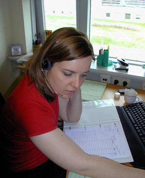 Kristín sumarið 2002.