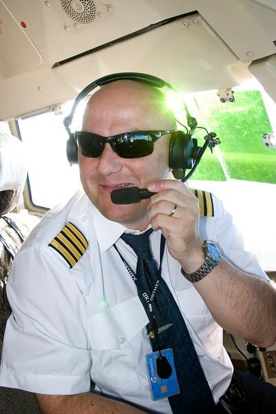 Henri Aivara Flugstjórinn