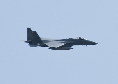 FA18 taken at Chads house in DePere 2008 Packer game flyover