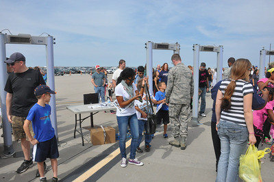 McConnell AFB Open House featuring ThunderBirds Sept 30, 2012