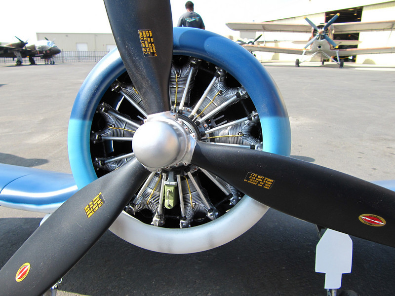 This is an RC model of the Corsair