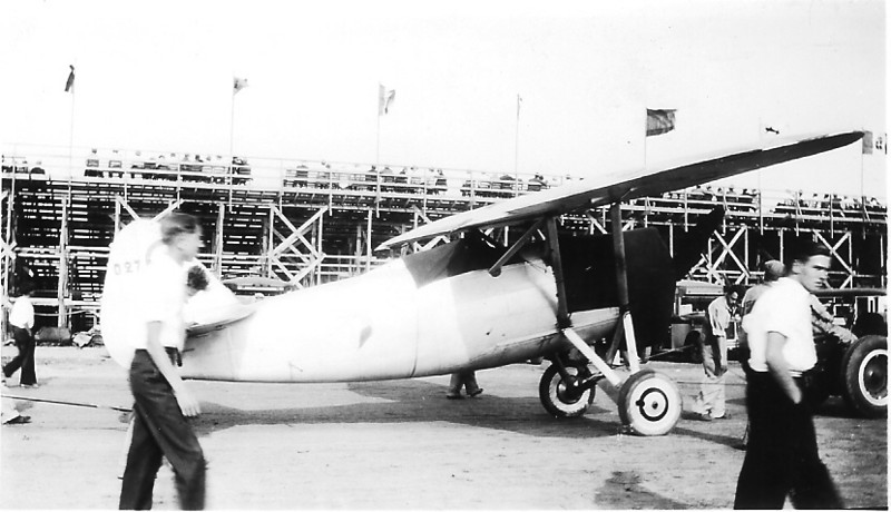 French built Dewoitine D.27 at the 1933 International Air Race - Chicago, IL