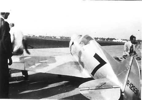 Tilbury Flash Racer, NR-12931 at 1930 National Air Races - Chicago, IL