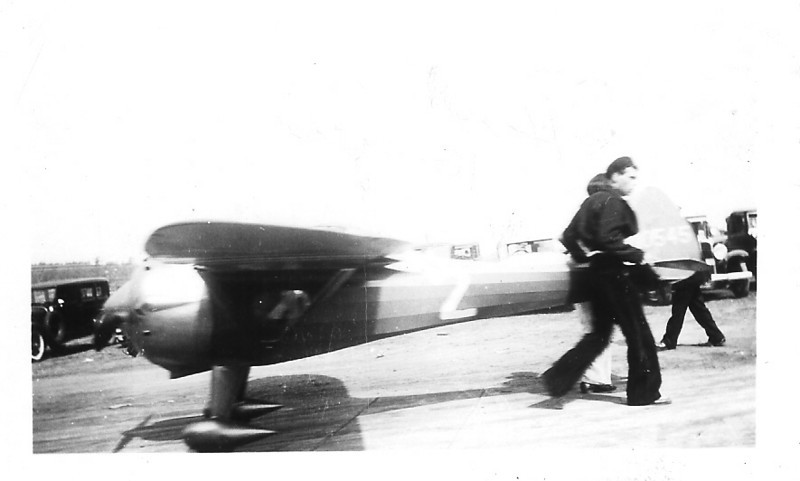Howard Krueger's Cessna CR2 Racer
