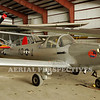 """Ercoup YO-55 in the colors of """"The Tuskeegee Airmen"""""""
