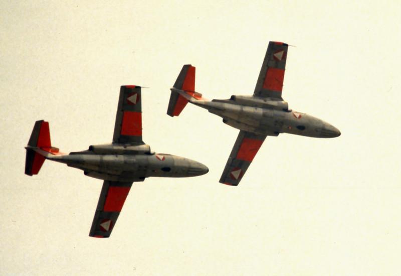 Austrian SAAB 105s
