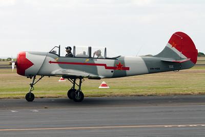 Yakovlev Aircraft Factories Yak 52 VH-YEK