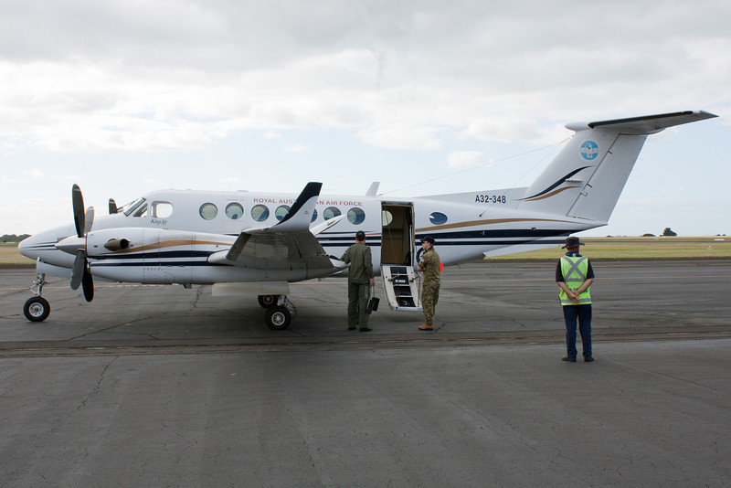 Royal Australian Air Force Beechcraft King Air 350 A32-348