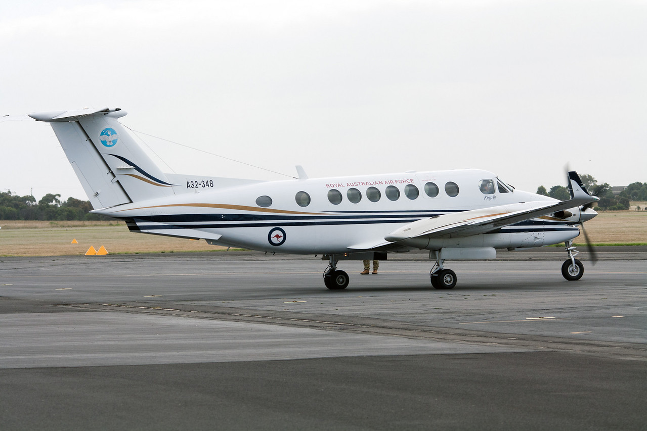 Royal Australian Air Force Beechcraft King Air 350 A32-348