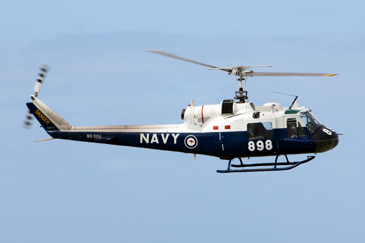 RAN Fleet Air Arm Historic Flight Bell Helicopter Co Bell UH-1B N9-3104 VH-NVV