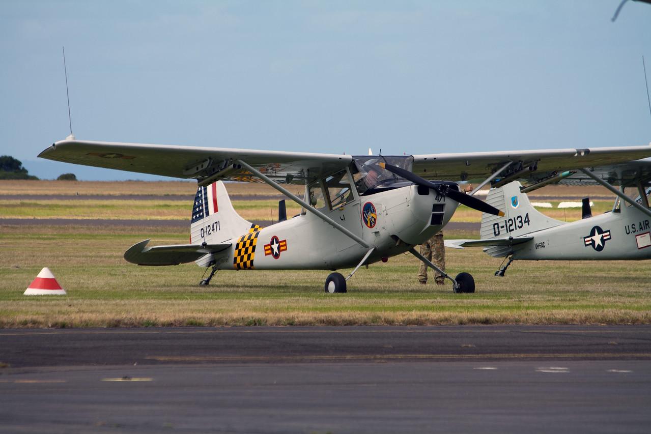 Cessna Aircraft Corp Bird Dog 0-1G 0-12471 VH-FXY