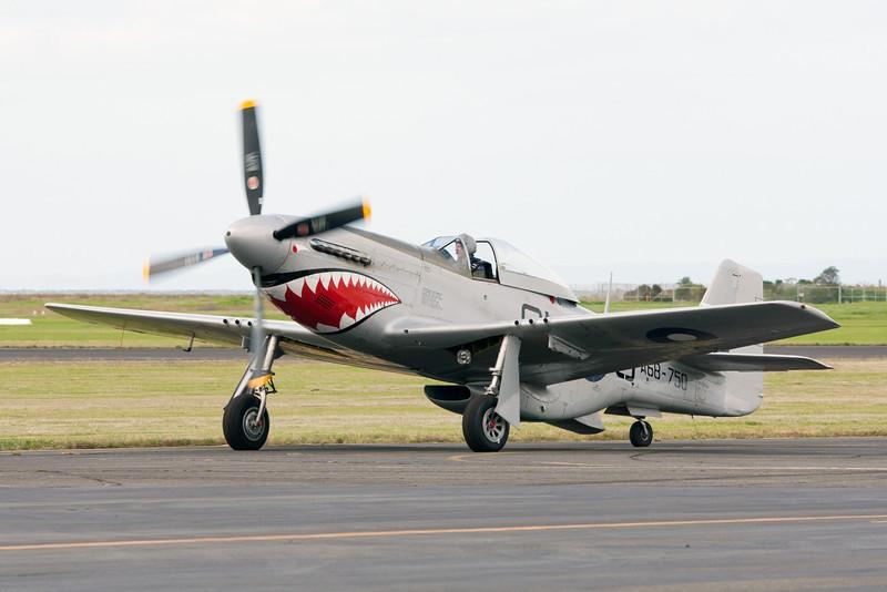 Commonwealth Aircraft Corp Mustang CA-18 MK 23 A68-750 VH-SVU