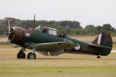 Commonwealth Aircraft Corp Wirraway CA-3 MK II A20-176 VH-WWY