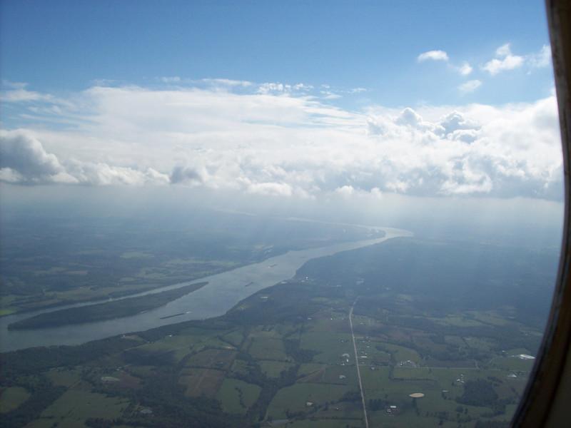 Hole for descent into CGI along Ohio River