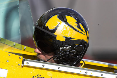 If you look close you can see the hallogram of the Bulldog in the side of the helmet.