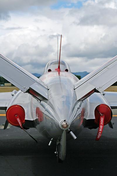 Fouga CM-170 Magister N505DM s/n FM-36 Sigma 18-50mm f/2.8 EX DC