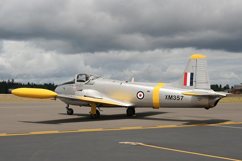 BAC Jet Provost P84 T3A N27357 s/n XM357 Sigma 18-50mm f/2.8 EX DC