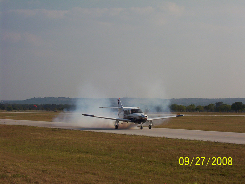 Must be past TBO...burning a lot of oil :-)