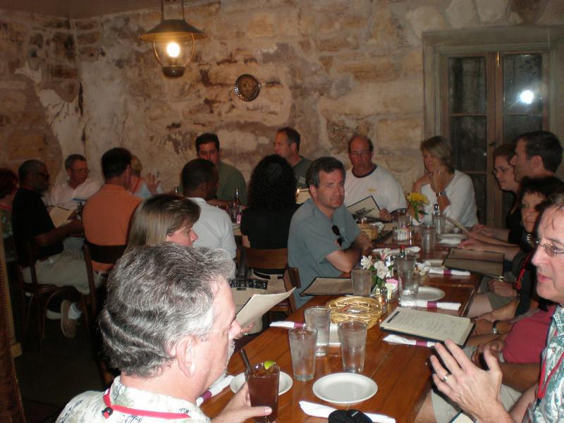 Thursdays Group Dinner