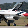The Thunderbirds prepare to fly in the 2008 Wings over Marietta Open House & Airshow