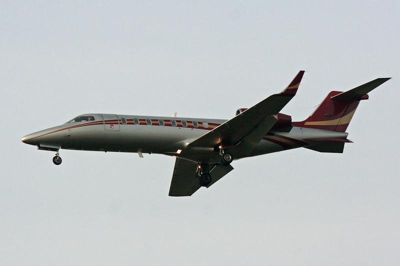 Learjet 45  G-RWGW<br /> By David Bladen.