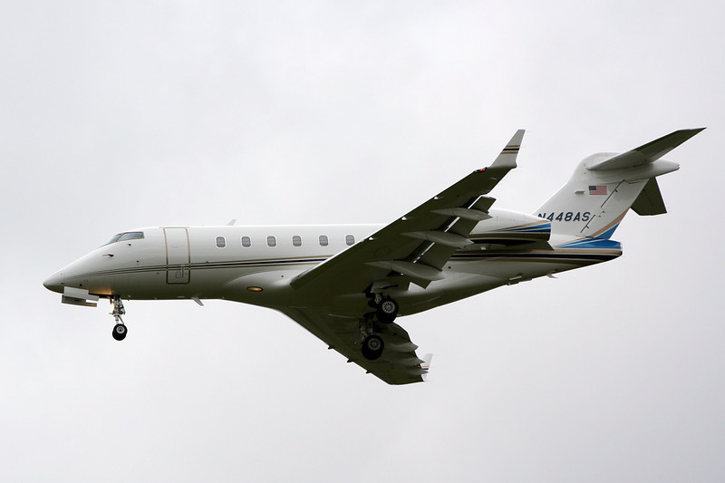 Bombardier BD-100-1A10 Challenger 300  N448AS<br /> By David Bladen.