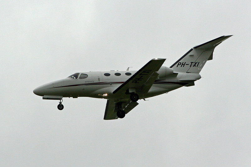 Cessna 510 Citation Mustang  PH-TXI<br /> By David Bladen.