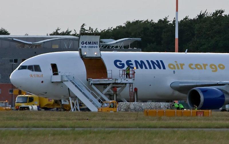 Gemini Air Cargo  MD-11F  N705GC<br /> By Stuart Allen.