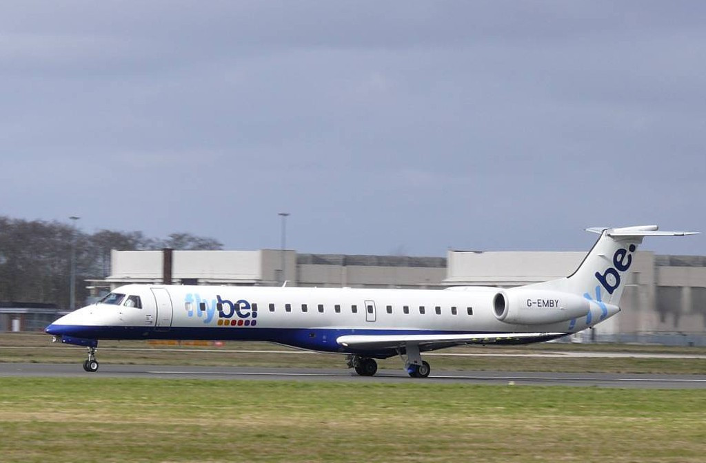 Flybe EMB-145 G-EMBY<br /> By Clive Featherstone.