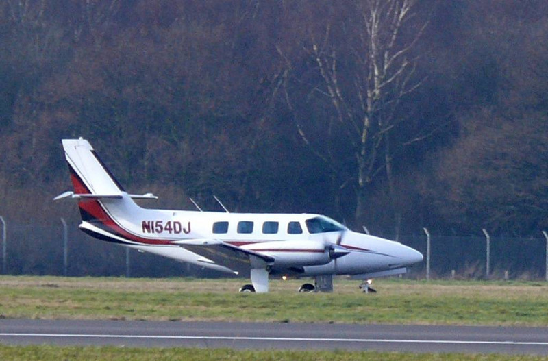Cessna T303  N154DJ<br /> By Clive Featherstone.