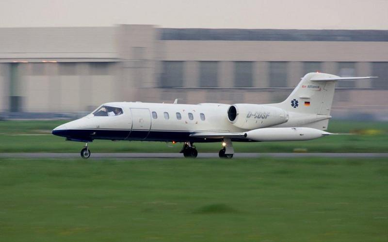 Air Alliance Gates Learjet 35 D-CDSF<br /> By Stuart Allen.